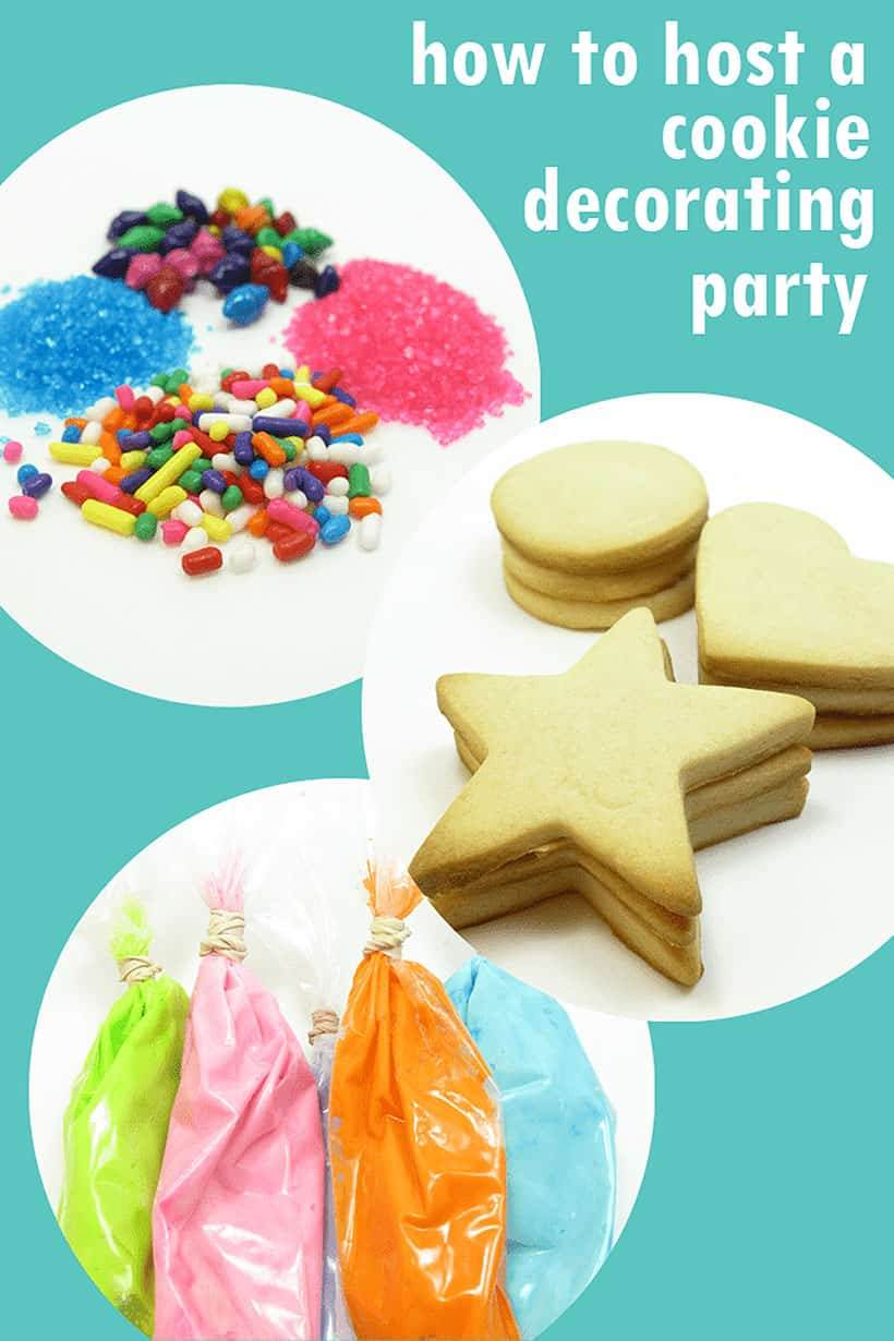 how to host a cookie decorating party with kids