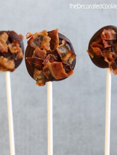 bacon chocolate pops