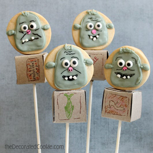 boxtrolls cookie pops