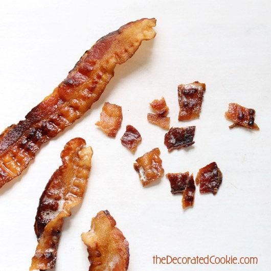 chocolate bacon pops