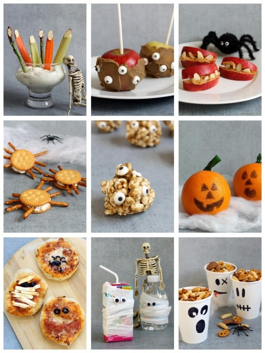 healthy Halloween party snacks