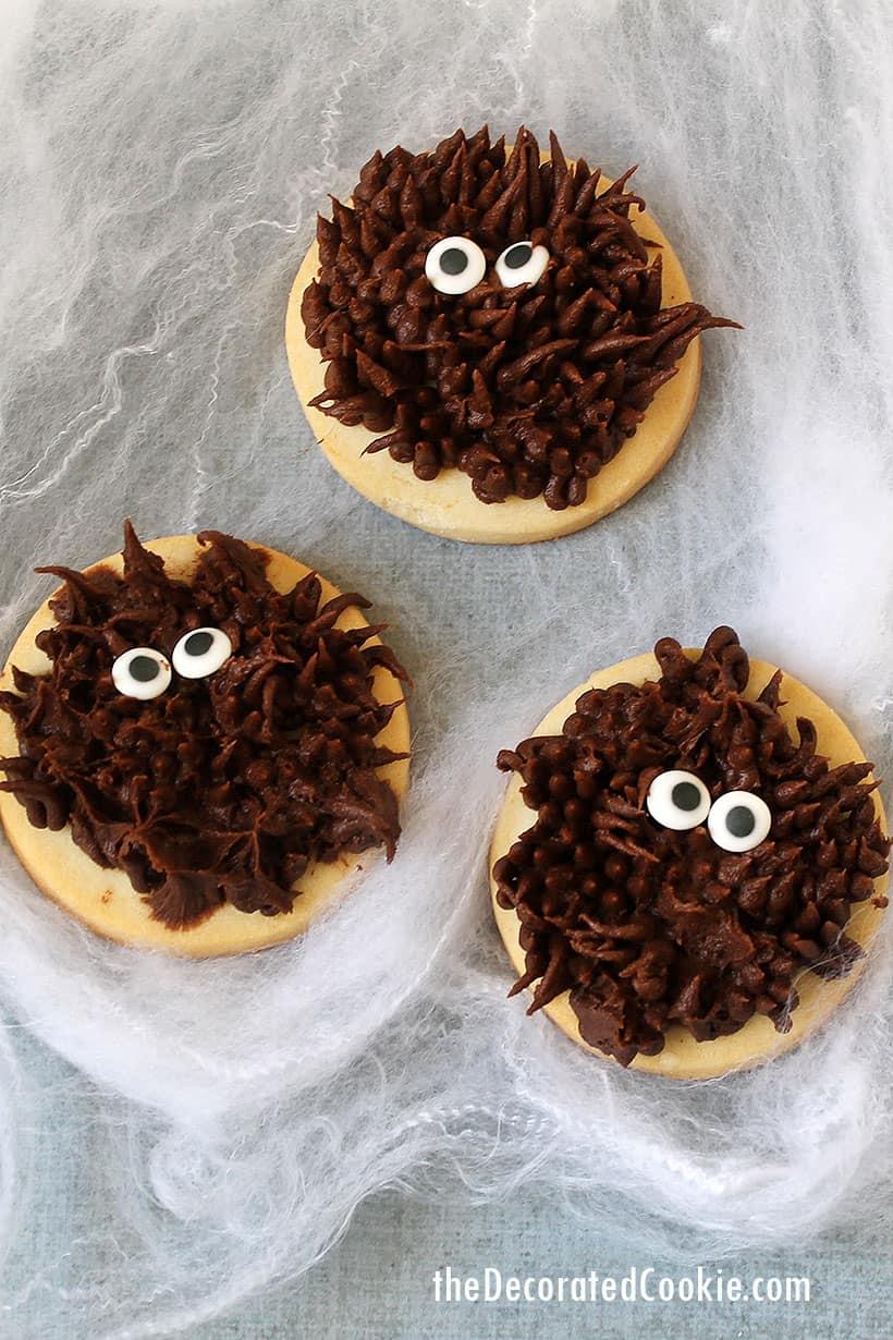 easy werewolf cookies for Halloween