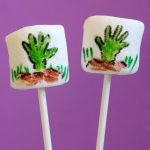 zombie hand marshmallows