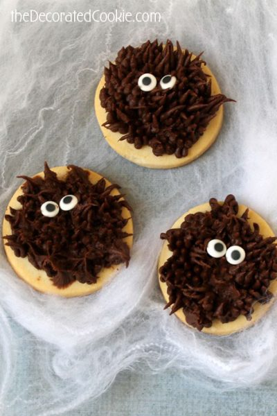how to make easy werewolf cookies for Halloween