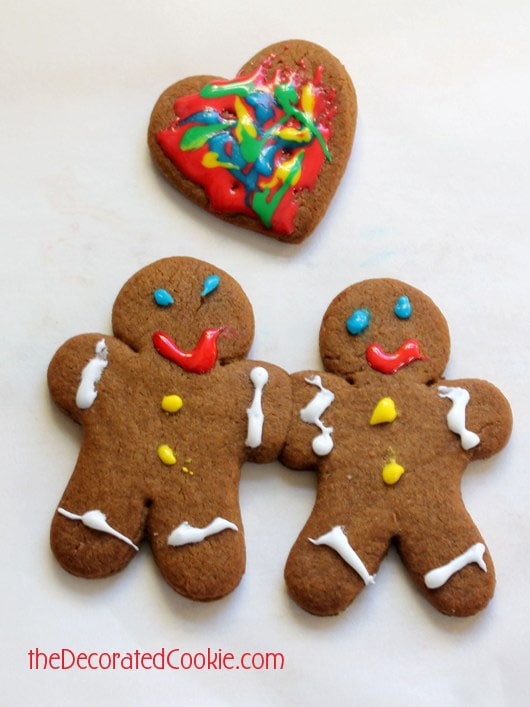 BFF gingerbread man cookies