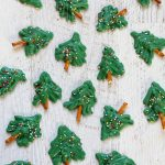 mini chocolate Christmas trees