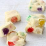 gumdrop fudge candy for Christmas