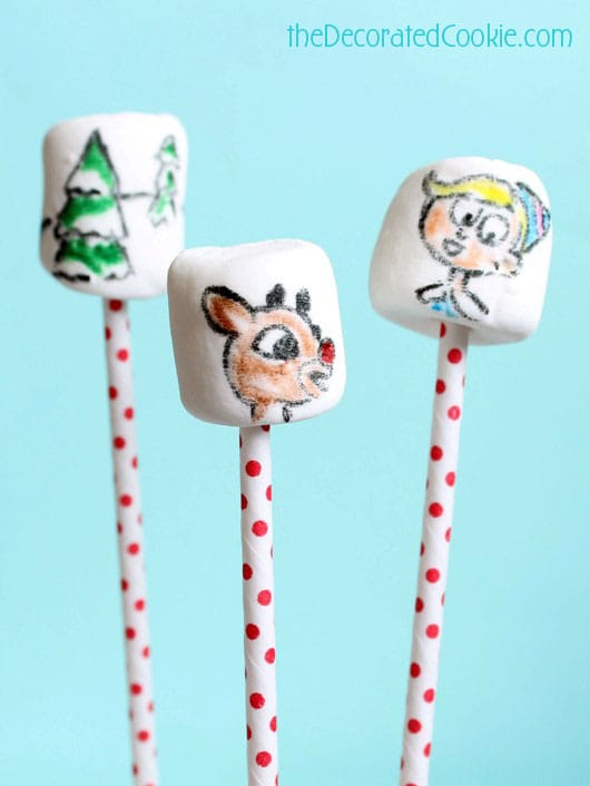 Rudolph marshmallows for Christmas