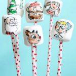 Rudolph marshmallows