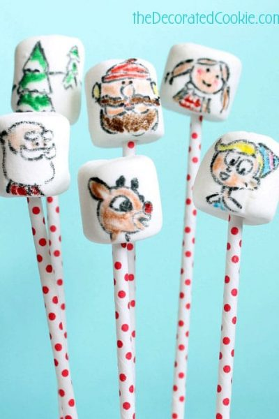 Rudolph marshmallows for Christmas