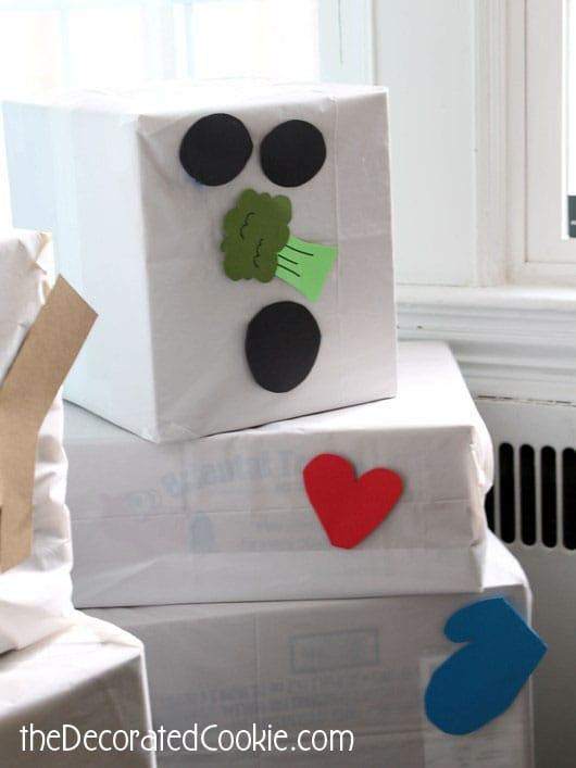 snowman box nose
