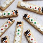 snowmen cookie sticks AND a snowman box game