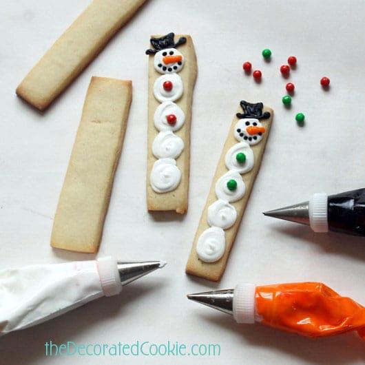 snowman sticks