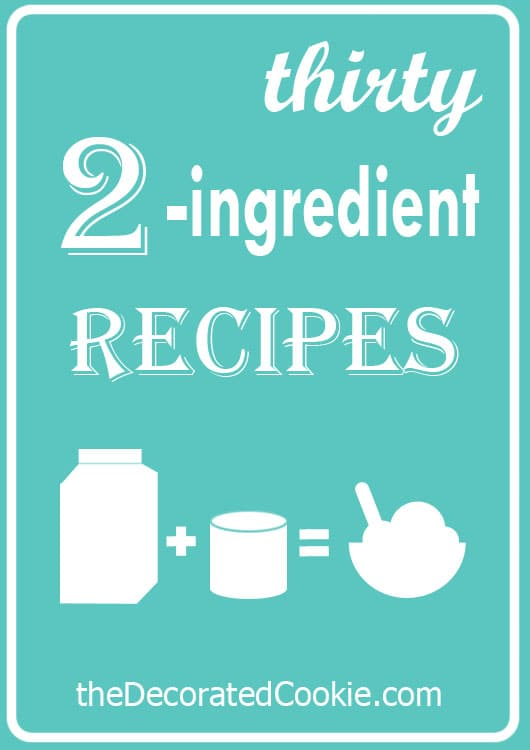 Wednesday Links: 30 two-ingredient recipes