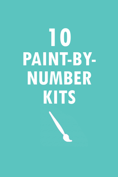roundup of 10 paint by number kits