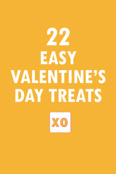 oundup of easy Valentine's Day treats and desserts