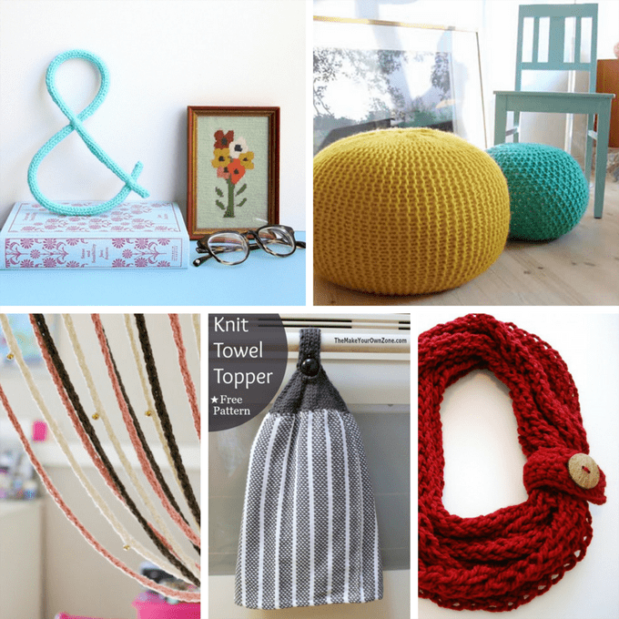 20 easy knitting projects beyond blankets and scarves