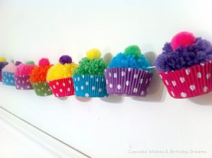 pompom-cupcake