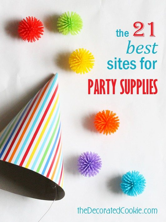 best sites for party supplies