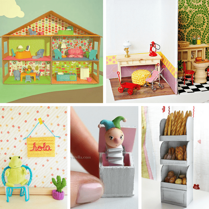making dollhouse furniture. 30 diy dollhouse furniture links plus how to make a pom armchair making