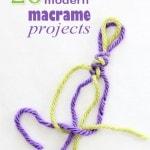 20 modern macrame projects