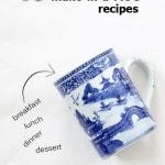 18 mug recipes