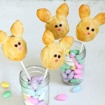 Pillsbury crescent roll bunny pops for Easter