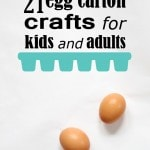 21 egg carton crafts