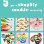 5 tips for making cookie decorating EASIER