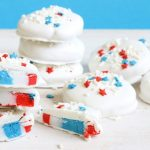 homemade peppermint patties for the 4th of July