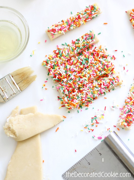 sprinkle cookie sticks