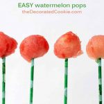 EASY watermelon pops