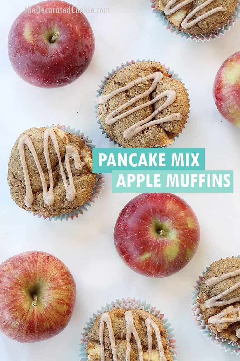 pancake mix apple muffins