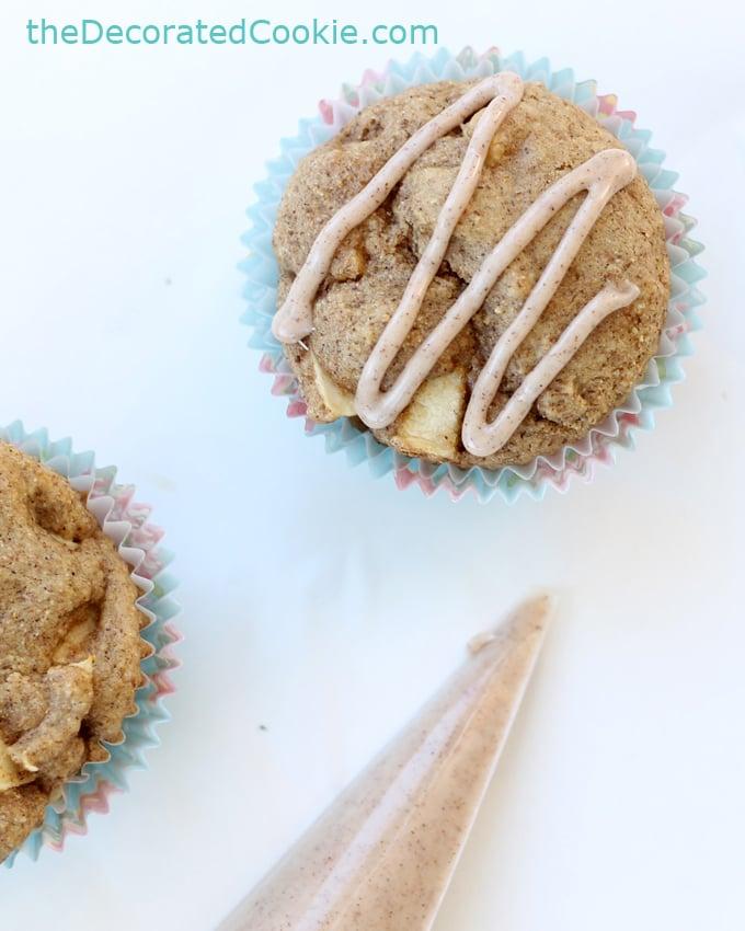 whole wheat pancake mix apple muffins
