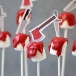 bloody Halloween marshmallows