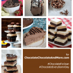 chocolate, chocolate and more recipe roundup for Joan