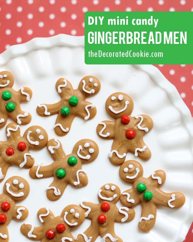 DIY mini gingerbread candy