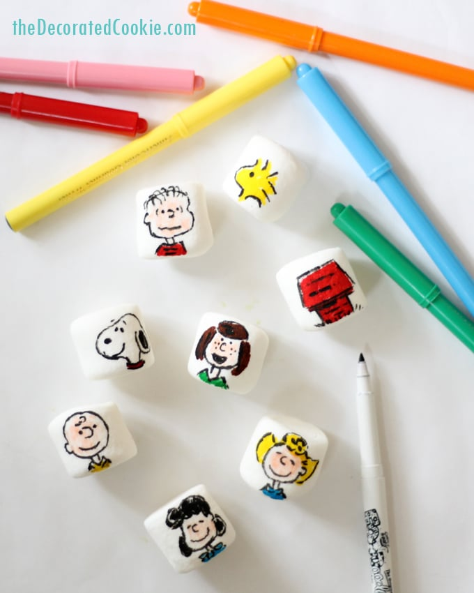 Peanuts Movie marshmallows