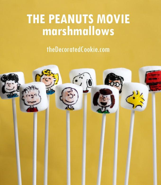 Peanuts movie marshmallows