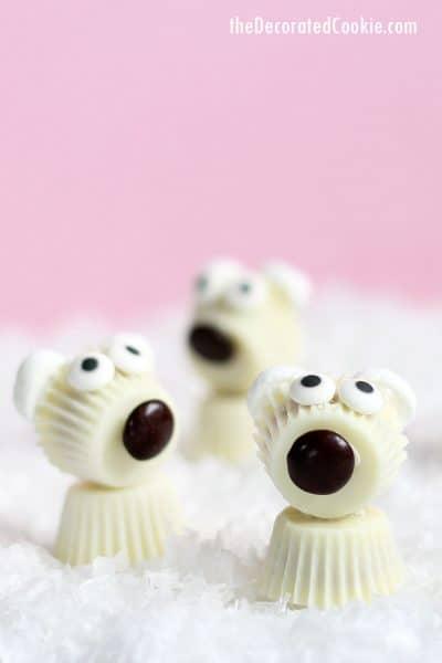 Reese's Peanut Butter Cup polar bears