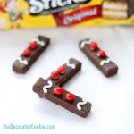 gingerbread man fudge sticks