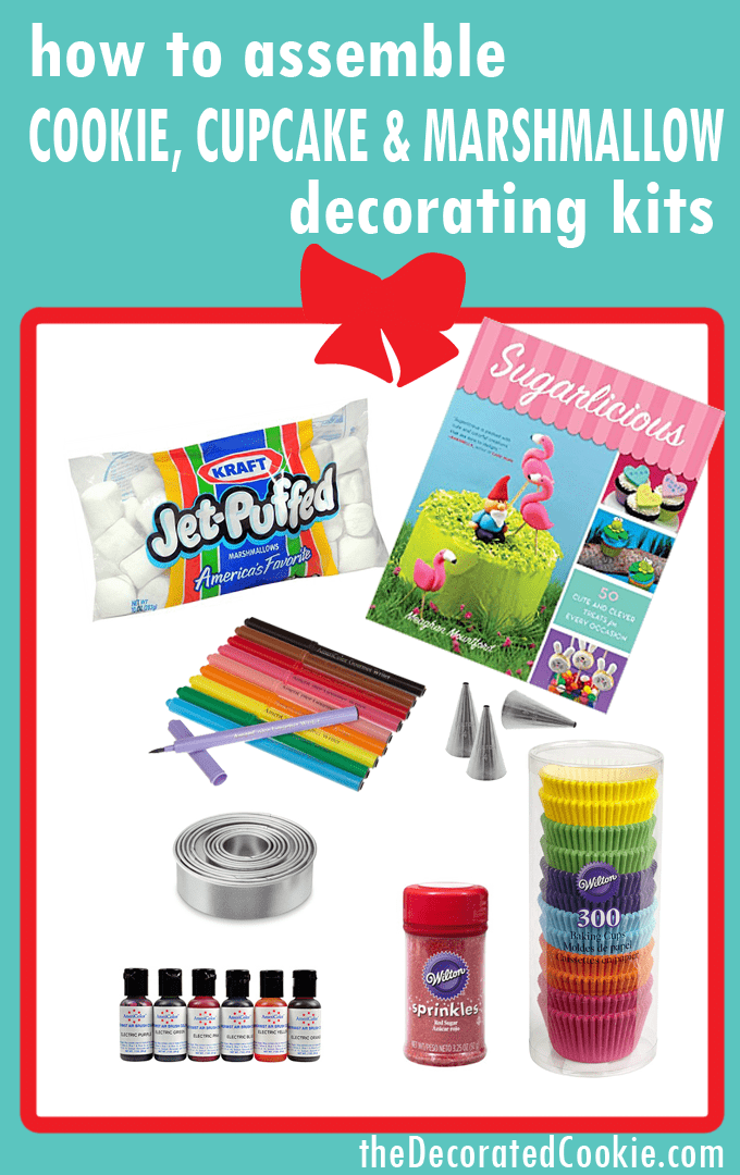 Assemble A Cookie Decorating Kit Cupcake Decorating Kit Or