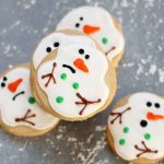 easy melting snowman cookies