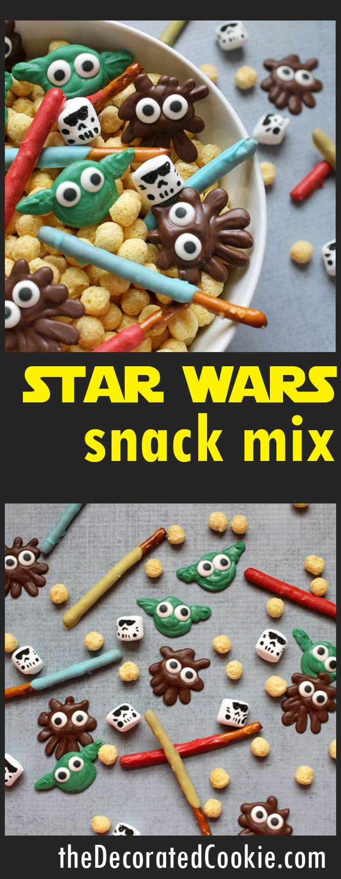 Star Wars snack mix
