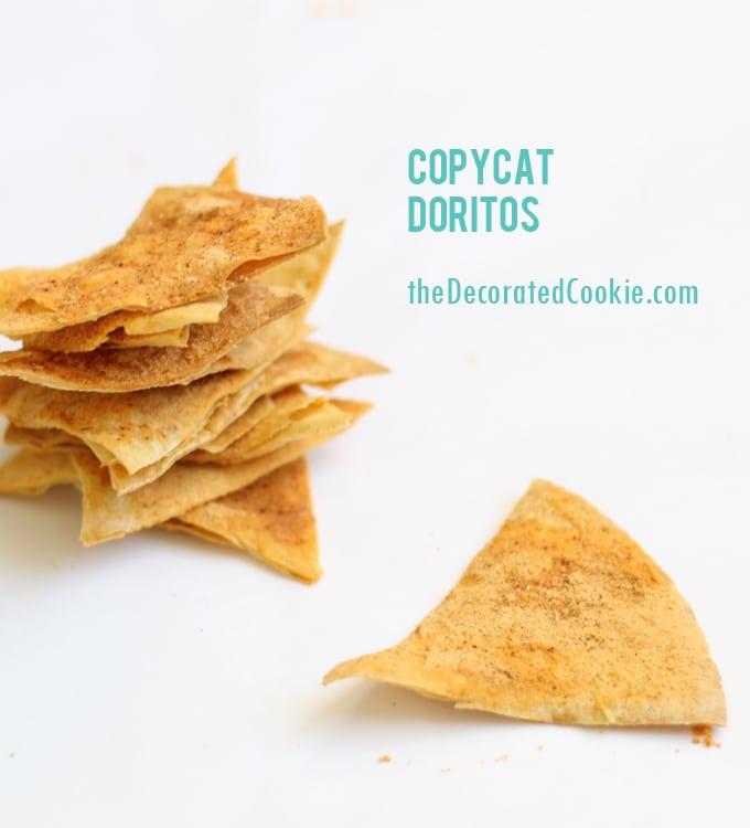 homemade copycat Doritos