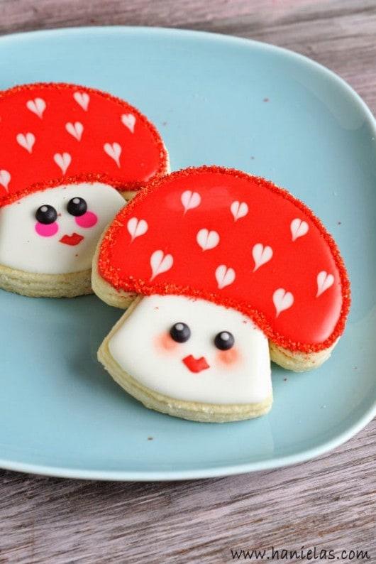 hanielas-mushroom-cookies