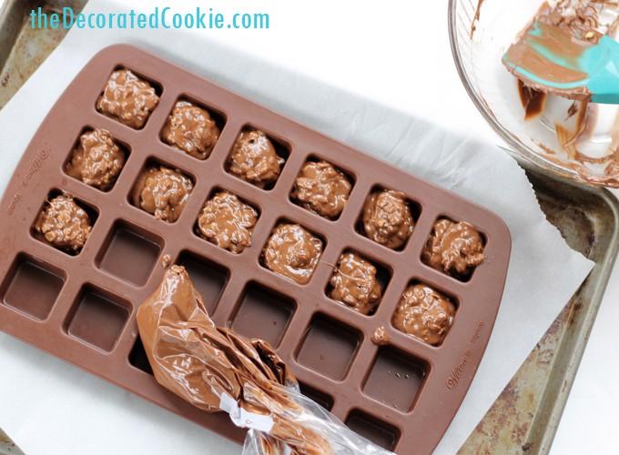 homemade Nestle Crunch bar