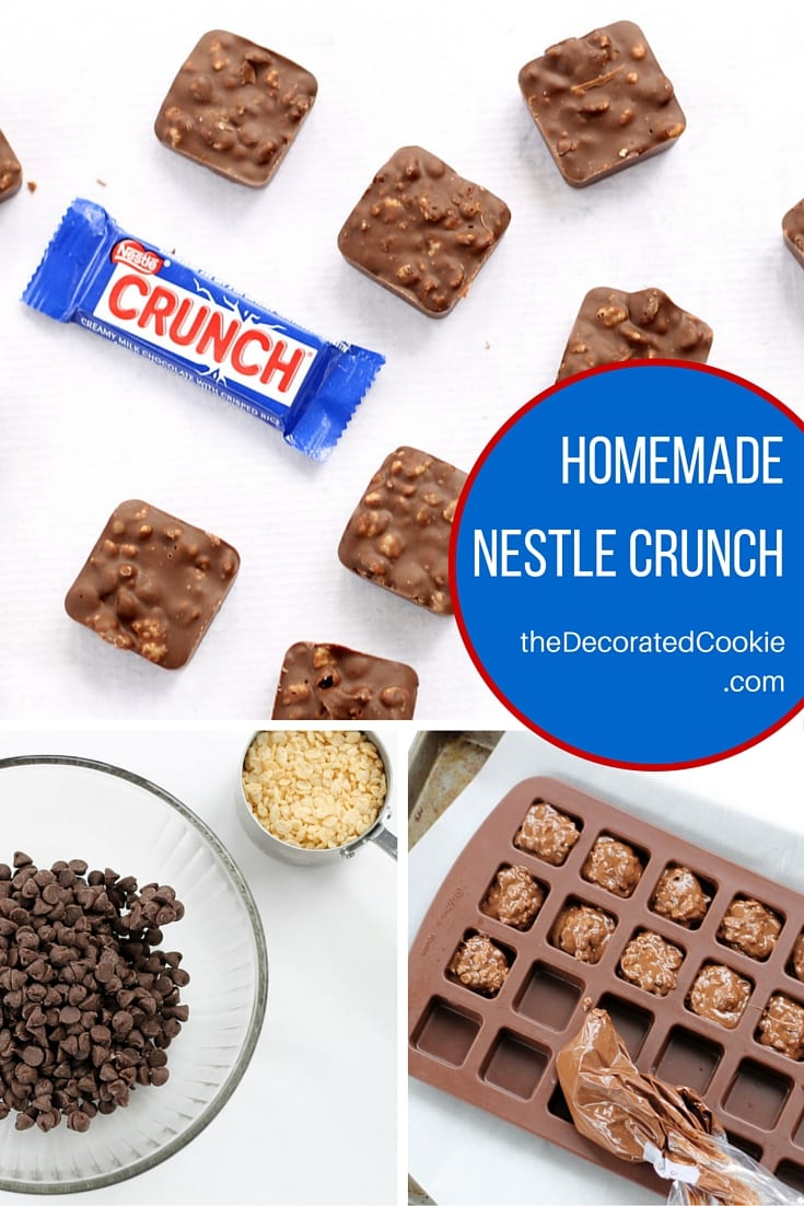 homemade nestle crunch