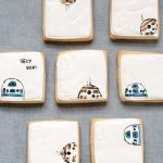 Star Wars droid cookies