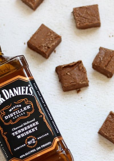 3-ingredient jack daniels fudge